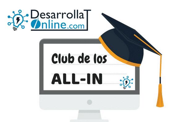 ¿Qué es el Club de All-in o Grupos de Alta de Velocidad?