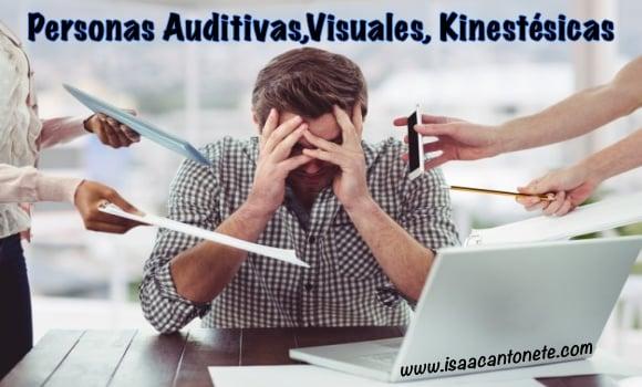 Personas Auditivas, Visuales, Kinestésicas